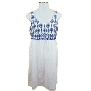 beachlunchlounge Embroidered White Dress